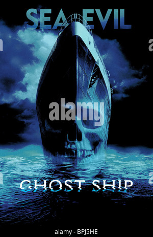 FILM POSTER GHOST SHIP (2002) - Stock Photo
