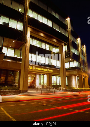 Dublin, Co Dublin, Ireland, Custom House Financial Centre - Stock Photo