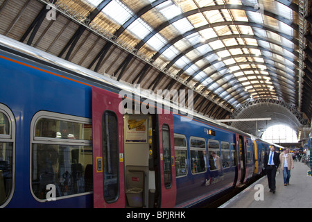 Kings Cross Mainline Station - London - Stock Photo