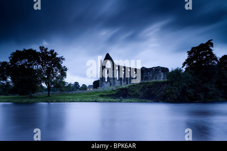 Bolton Abbey near Skipton, Wharfedale, Yorkshire Dales, North Yorkshire, England, Great Britain, Europe - Stock Photo