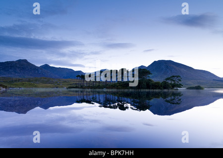 Ballynahinch Lake, Connemara, Co. Galway, Ireland, Europe - Stock Photo