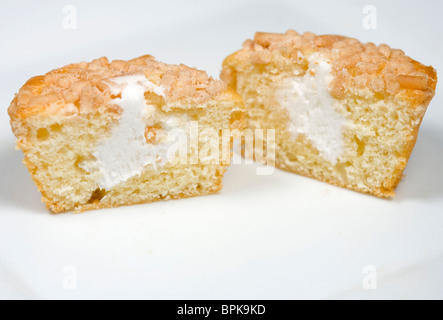 Tastykake cream filled Koffee Kake cupcakes. - Stock Photo