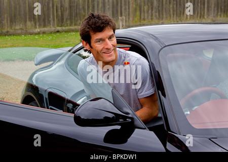 Mark Webber F1 Formula one racing driver - Stock Photo