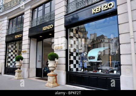 Kenzo store, Paris, France - Stock Photo