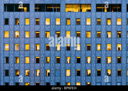 The Mobil Building on 42nd Street, New York City. - Stock Photo