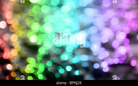 Background with colored circles with all colors of the rainbow. - Stock Photo