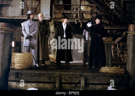 STUART TOWNSEND SEAN CONNERY SHANE WEST TONY CURRAN & PETA WILSON THE LEAGUE OF EXTRAORDINARY GENTLEMEN; LXG (2003) - Stock Photo