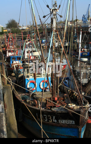 Fishing boats and nets in a creek off the old bedford for Fishing kings free