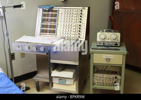 A display at the Glore Psychiatric Museum in St. Joseph, Missouri. - Stock Photo