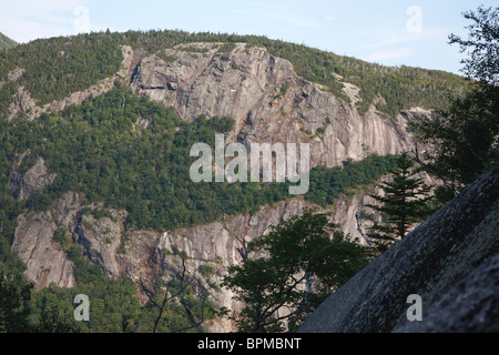 Crawford Notch State Park - Mount Willard in the White Mountains, New Hampshire USA. - Stock Photo