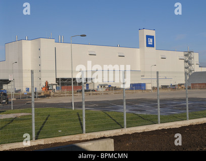 General Motors launches car assembly plant in St Petersburg - Stock Photo