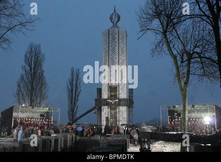 Ceremonies to commemorate 75th anniversary of Holodomor, 1932-33 famine-genocide in Ukraine - Stock Photo