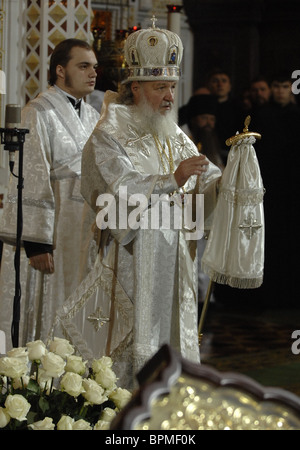 Funeral service for Patriarch of Moscow and All Russia Alexy II - Stock Photo