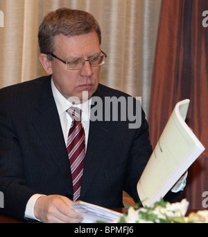 Medvedev holds meeting on economic issues - Stock Photo