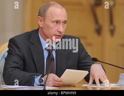Russia, Belarus discuss anti-crisis plan - Stock Photo