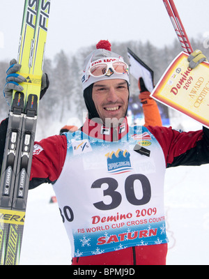 Russia hosts FIS-World Cup Cross-Country - Stock Photo