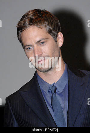 Russian premiere of Fast & Furious 2009 - Stock Photo