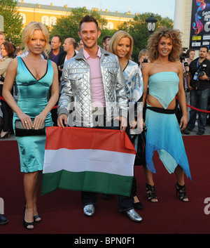 Eurovision 2009 opens in Moscow - Stock Photo