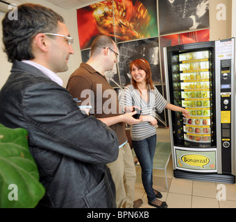 Banana Vending Machine Bonanza - Stock Photo