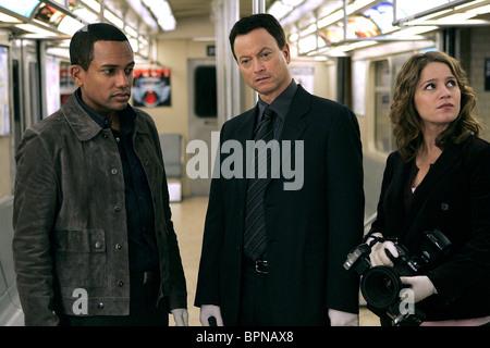HILL HARPER GARY SINISE & ANNA BELKNAP C.S.I.: NY ; CSI: NEW YORK ; C.S.I. NEW YORK (2004) - Stock Photo