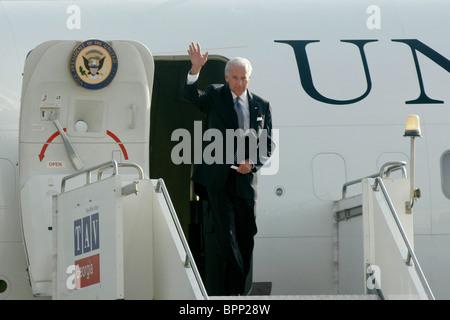US Vice President Joe Biden visits Georgia - Stock Photo
