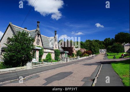 Ford Village, Northumberland - Stock Photo