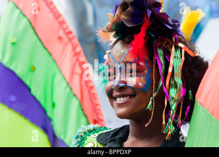 Notting Hill Carnival, London, England. - Stock Photo
