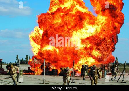 EXPLOSION SCENE THE 9TH COMPANY; 9-YA ROTA (2005) - Stock Photo