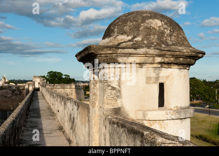 Puerta de Tierra, entrance to the old town, Campeche, the Yucatan, Mexico - Stock Photo