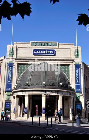 O2 Academy Brixton, Stockwell Road, London Borough of Lambeth, Greater London, England, United Kingdom - Stock Photo