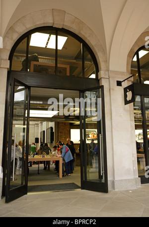 The Apple Store, Covent Garden, London UK - Stock Photo
