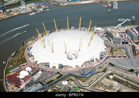 O2 arena on North Greenwich Peninsula - Stock Photo