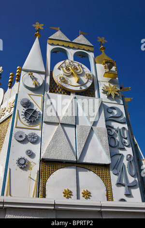 It's a Small World ride and attraction, Disneyland Resort, Anaheim, California, United States of America. - Stock Photo