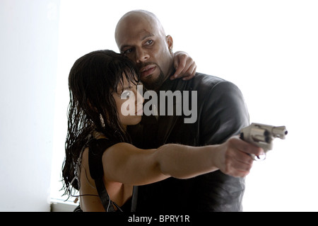 ALICIA KEYS & COMMON SMOKIN' ACES; SMOKING ACES (2006) - Stock Photo