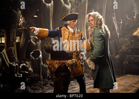 JACK DAVENPORT & JONATHAN PRYCE PIRATES OF THE CARIBBEAN: AT WORLDS END; PIRATES OF THE CARIBBEAN 3 (2007) - Stock Photo