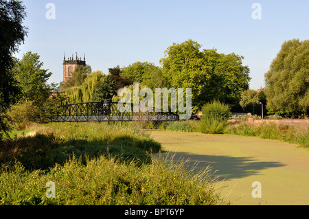 The Washlands, Burton on Trent, Staffordshire, England, UK - Stock Photo