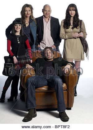 MADELEINE MARTIN NATASCHA MCELHONE EVAN HANDLER DAVID DUCHOVNY & MADELINE ZIMA CALIFORNICATION (2007) - Stock Photo