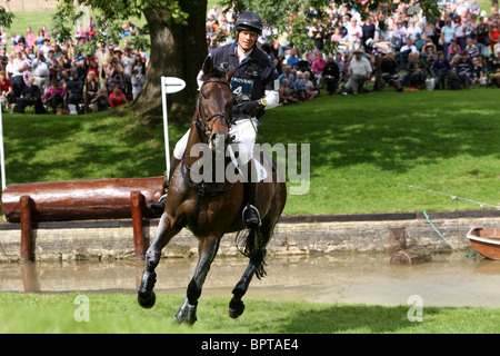 Land Rover Burghley Horse Trials in Stamford Lincolnshire. - Stock Photo