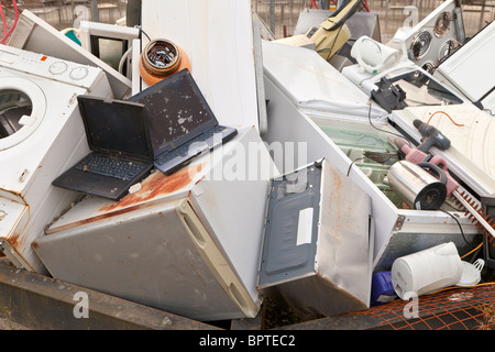 Home appliances for recycling - Stock Photo