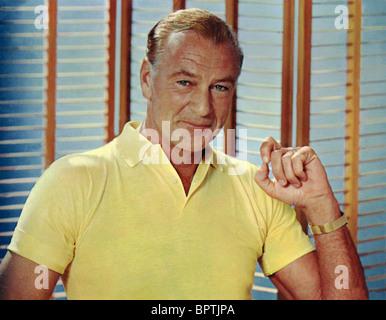 GARY COOPER ACTOR (1956) - Stock Photo