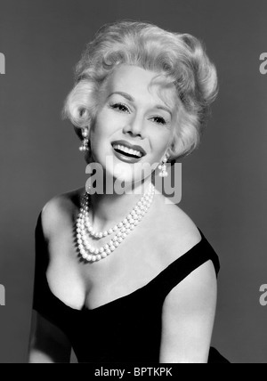 EVA GABOR ACTRESS (1958) - Stock Photo