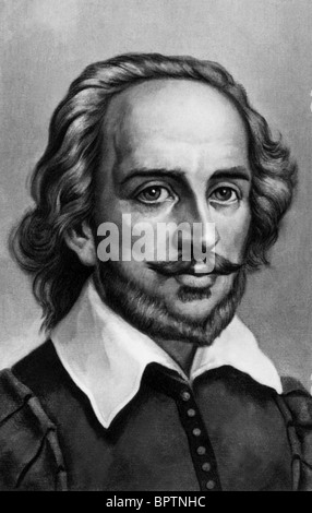 WILLIAM SHAKESPEARE AUTHOR 1564-1616 (1753) - Stock Photo