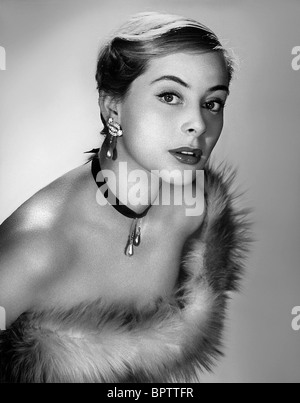 GENEVIEVE PAGE ACTRESS (1956) - Stock Photo
