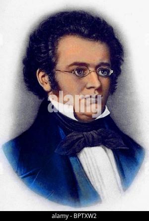 FRANZ SCHUBERT MUSIC COMPOSER (1820) - Stock Photo