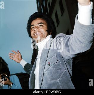 JOHNNY MATHIS SINGER (1980) - Stock Photo