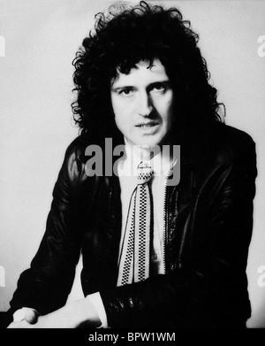 BRIAN MAY QUEEN GUITARIST (1986) - Stock Photo