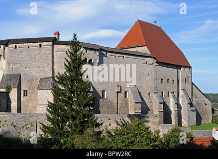 Tittmoning castle - Stock Photo