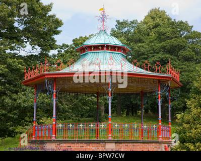 Sefton Park in Liverpool, Merseyside, England, Uk - Stock Photo