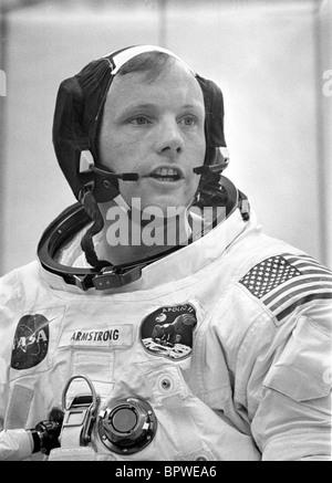 NEIL ARMSTRONG APOLLO 11 ASTRONAUT (1969) - Stock Photo