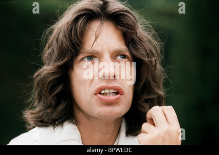 MICK JAGGER MUSICIAN 'ROLLING STONES' (1975) - Stock Photo